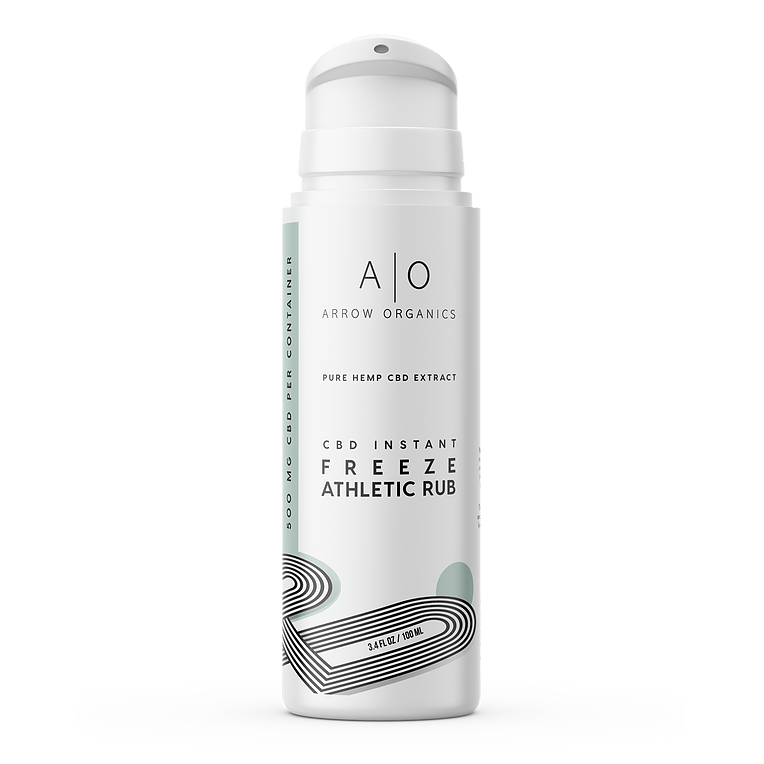 Arrow Organics Instant Freeze Athletic Rub