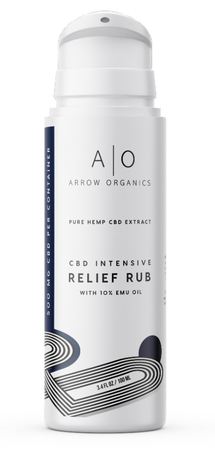 Arrow Organics Intensive Rub With Emu Oil