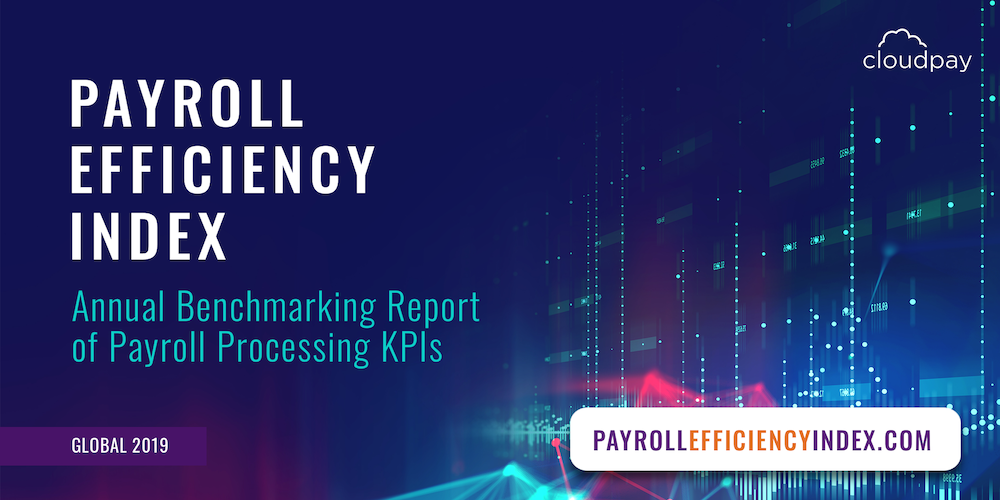 CloudPay Payroll Efficiency Index 2019