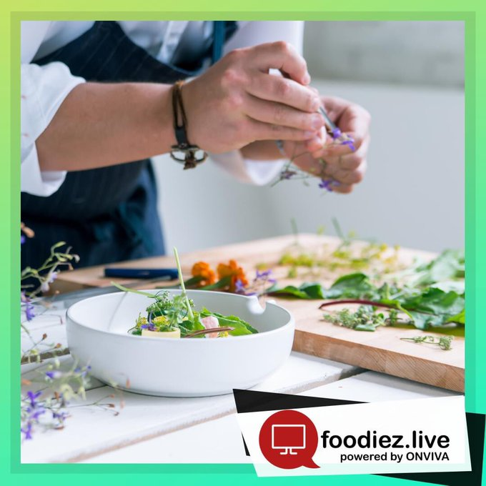 Foodiezlive Chef Plating