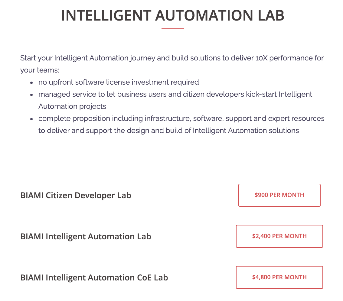 Intelligent Automation Lab