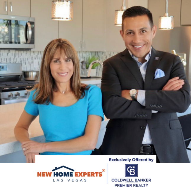 Jennifer Graff & Alex Vazquez New Home Experts LV