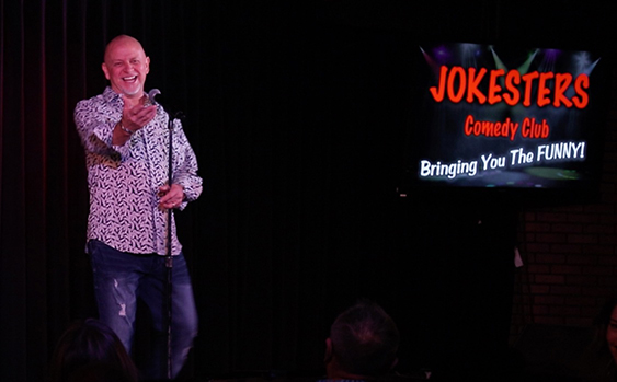 Resident Headliner Don Barnhart Lets Loose Nightly At Jokesters Comedy Club