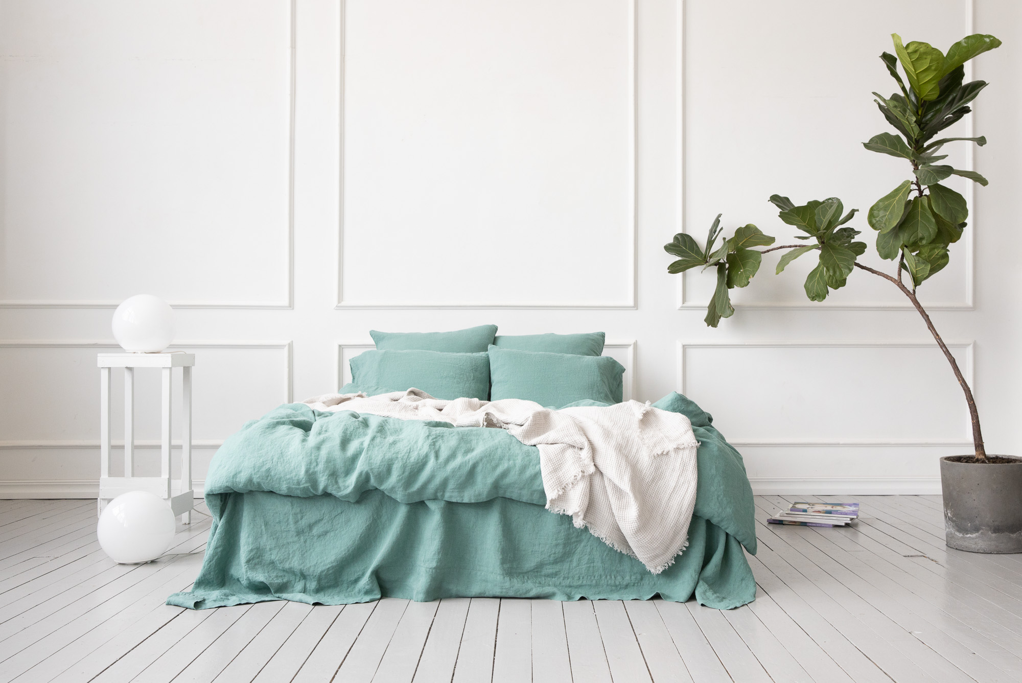 Stone Washed Linen Duvet LinenMe